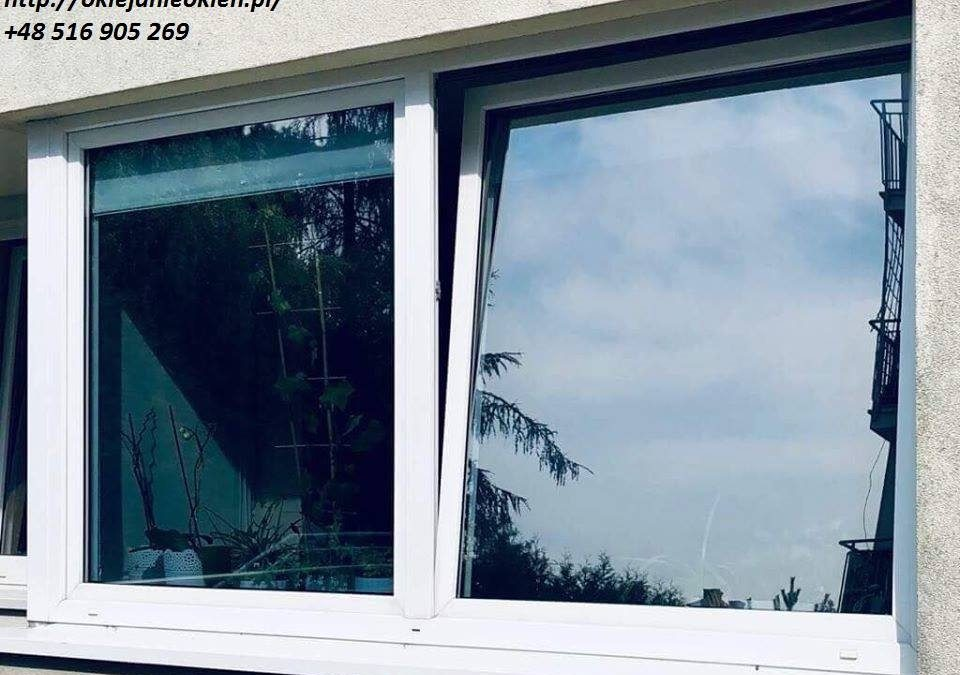 Oklejanie okien i witryn Warszawa – FOLMONT Folie okienne w Warszawie